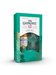 Glenlivet 12 Years Double Oak + 2 Glasses