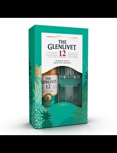 Glenlivet 12 Years Double Oak + 2 Glasses