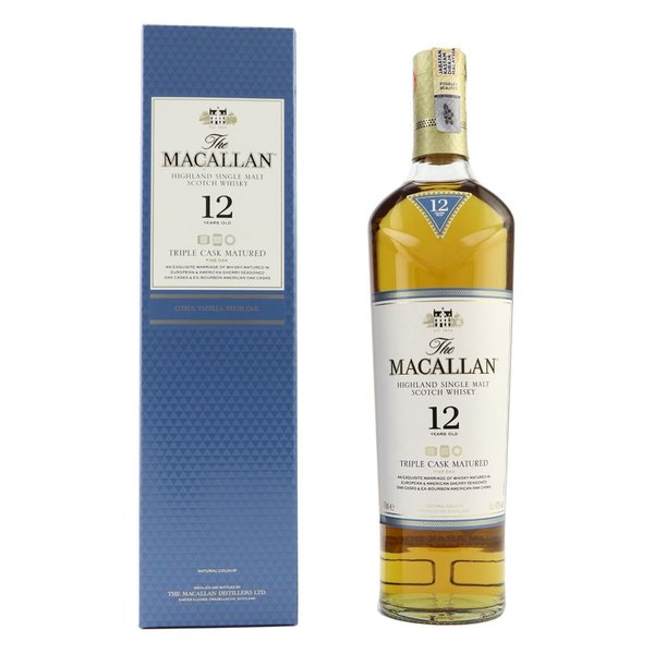Macallan 12 years triple cask in giftbox