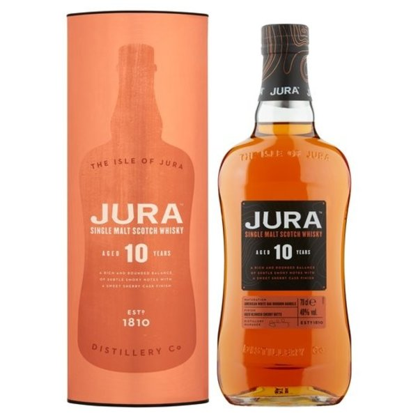 Isle of Jura Isle Of Jura 10 Years + Gb