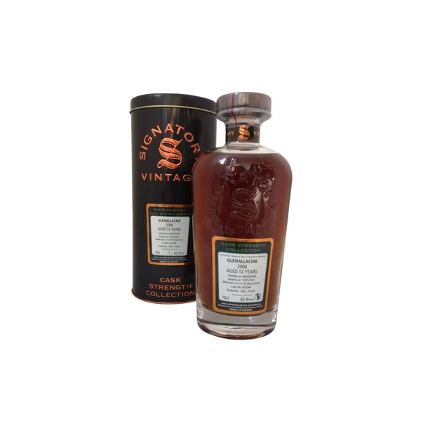 Signatory Vintage Glenallachie 2008 12 Years Old