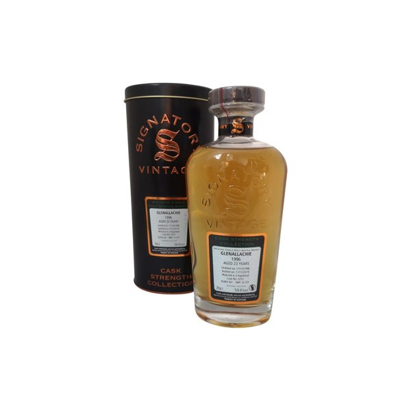 Signatory Vintage Glenallachie 1996 23 Years Old