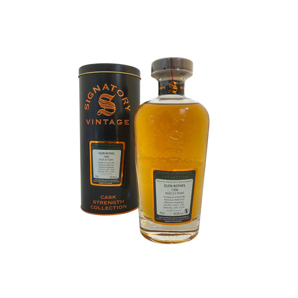 Signatory Vintage Glen Rothes 1996 24 Years Old