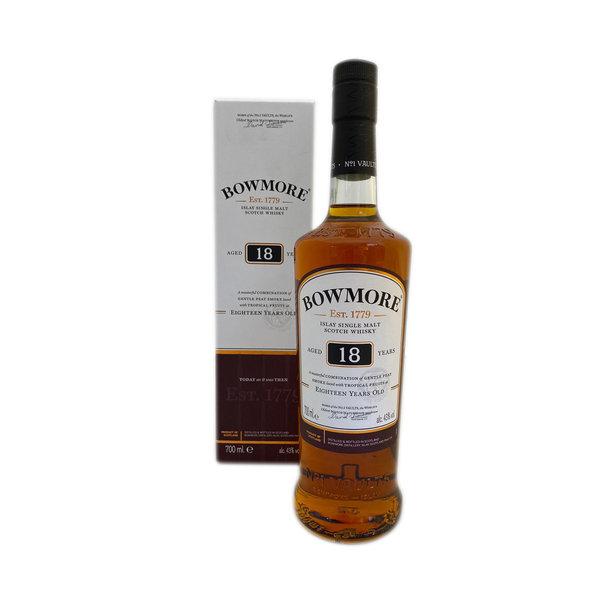 Bowmore 18 Year Single Malt 70CL In Giftbox