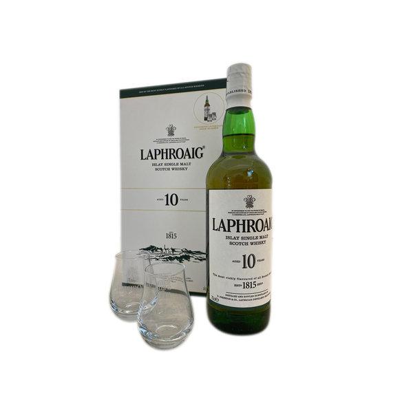 Laphroaig Single Malt 10 years geschenkset