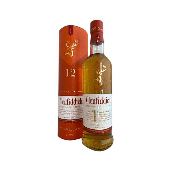 Glenfiddich 12 Years Triple Oak Single Malt Scotch Whisky
