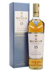 Macallan 15 years triple cask in giftbox