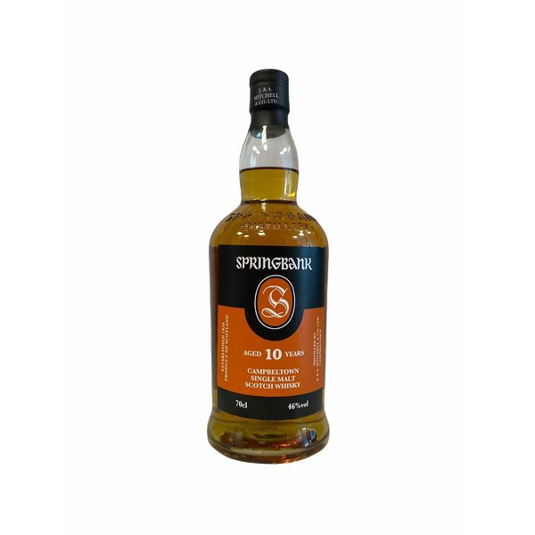 Springbank 10 Years Old Whisky 70CL
