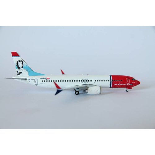 Gemini Jets 1:200 Norwegian B737-MAX 8