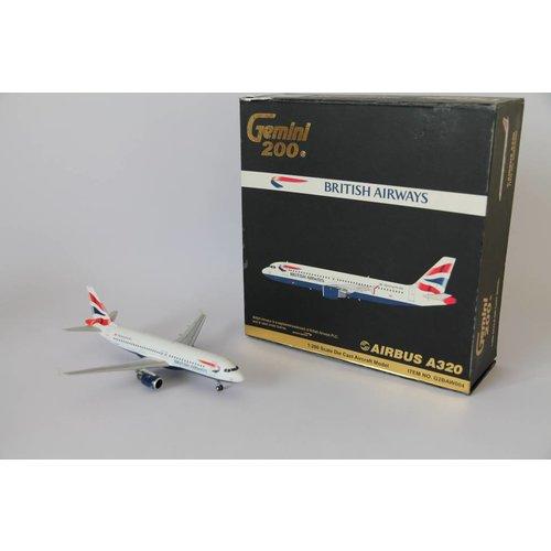 Gemini Jets 1:200 British Airways A320