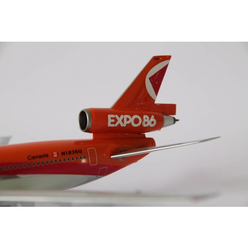 """Inflight 1:200 CP Air """"Expo `86"""" DC-10-10"""
