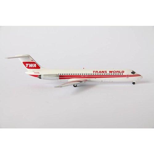 Inflight 1:200 TWA DC-9-32
