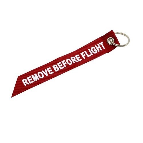 Diecast Trading Remove Before Flight Ribbon Red