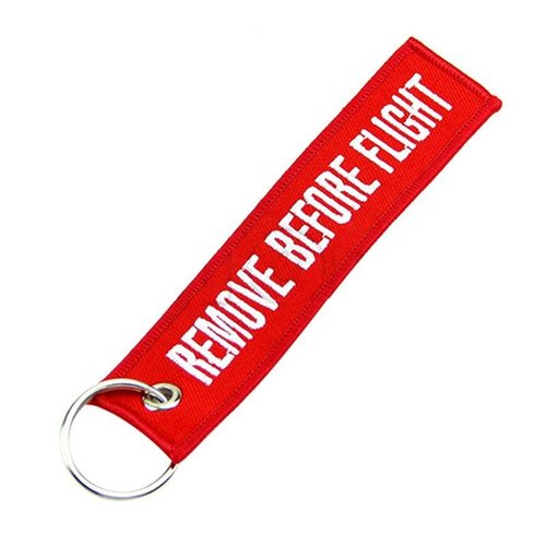 Diecast Trading Remove Before Flight Tag Rood