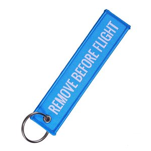 Diecast Trading Remove Before Flight Tag Electric Blue