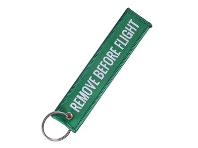 Remove Before Flight Tag Green