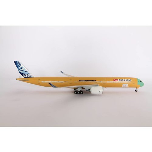 "JC Wings 1:200 Airbus House Color ""Bare Metal"" A350-1000"