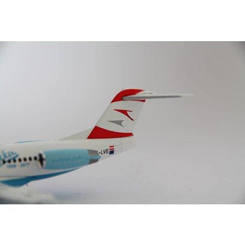 """Herpa 1:200 Austrian """"Goodbye Fokker"""" F100"""