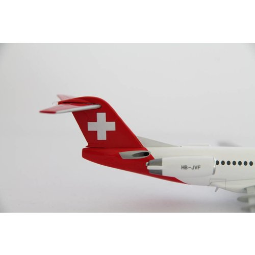 Herpa 1:200 Helvetic Fokker 100