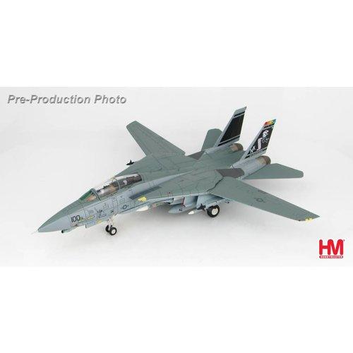 "Hobby Master 1:72 F14D Tomcat US NAVY, 164601, VF-31, 2002 ""Santa Tomcatters"""