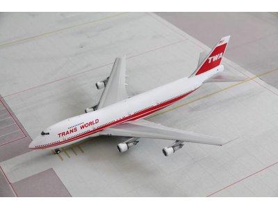 Inflight 1:200 TWA B747-200