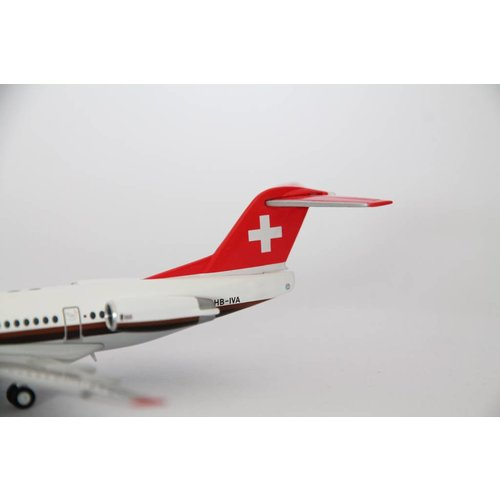 Herpa 1:200 Swissair Fokker 100