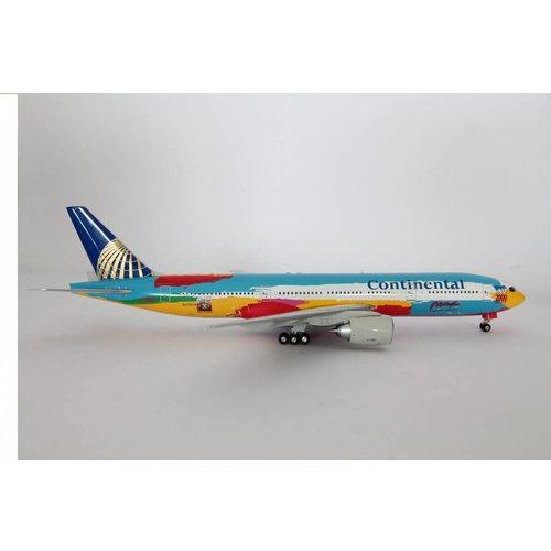 """JC Wings 1:200 Continental """"Pieter Max"""" B777-200"""