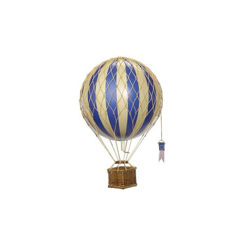 "Authentic Models Hot Air Balloon ""Travels Light, Blue"""