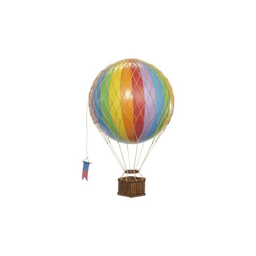 "Authentic Models Luchtballon ""Travels Light, Rainbow"""