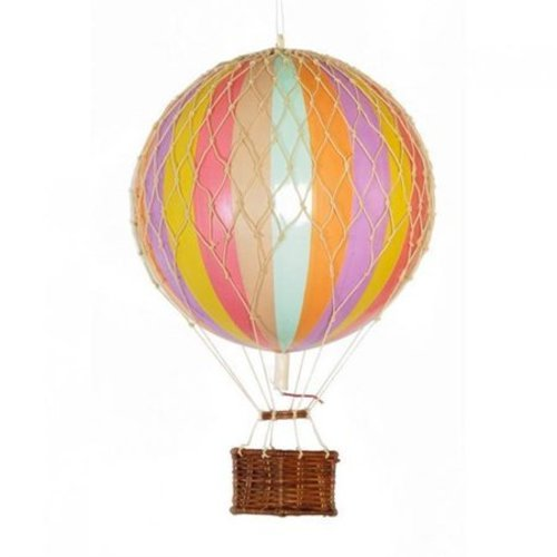 "Authentic Models Luchtballon ""Travels Light, Rainbow Pastel"""