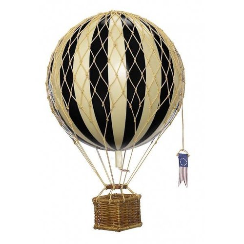 "Authentic Models Luchtballon ""Travels Light, Black"""