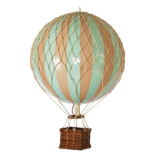 """Authentic Models Hot Air Balloon """"Travels Light, Mint"""""""