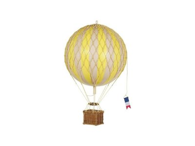 """Authentic Models Hot Air Balloon """"Travels Light, True Yellow"""""""