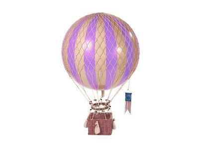 "Authentic Models Hot Air Balloon ""Royal Aero, Lavender"""