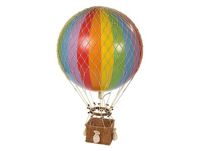 "Authentic Models Hot Air Balloon ""Royal Aero, Rainbow"""