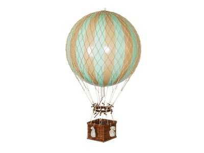 "Authentic Models Hot Air Balloon ""Royal Aero, Mint"""