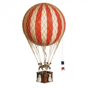 "Authentic Models Hot Air Balloon ""Royal Aero True Red"""