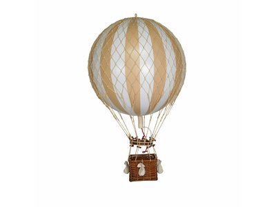 "Authentic Models Hot Air Balloon ""Royal Aero White/Ivory"""