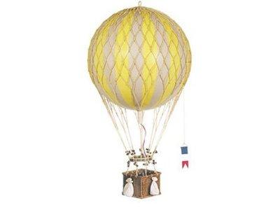 "Authentic Models Hot Air Balloon ""Royal Aero, True Yellow"""
