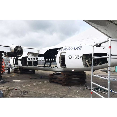 Aviationtag Aviationtag - Fokker 50 - SX-BRV (white)