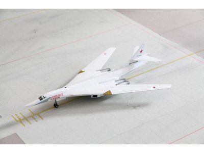 Herpa 1:200 Russian Air Force TU160, Blackjack/White Swan