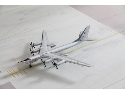 Herpa 1:200 Soviet Air Force Tupolev TU95MS