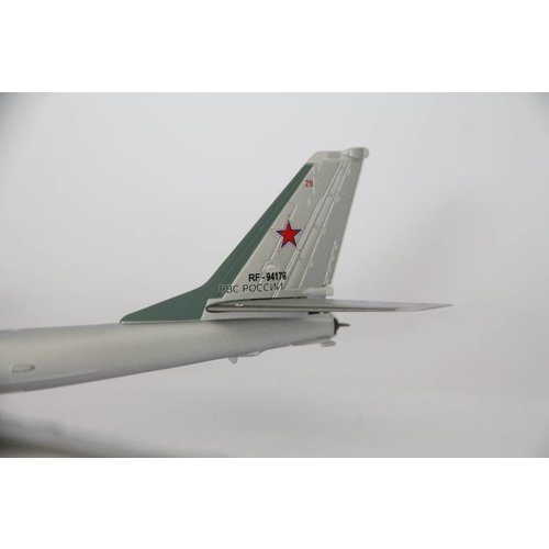 Herpa 1:200 Soviet Air Force Tupolev TU95MS 6950TH DONBASS RED BANNER AIR BASE,''SMOLENSK' RF-94178/29 RED