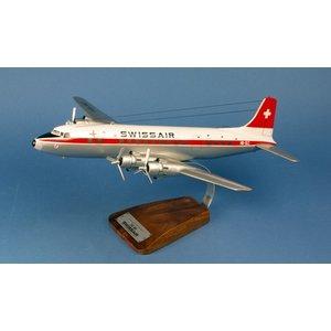 1:72 SAS Swissair Douglas DC-6B
