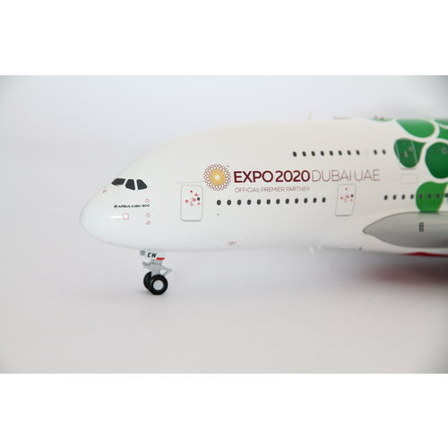 "Gemini Jets 1:200 Emirates ""Green EXPO 2020"" A380"