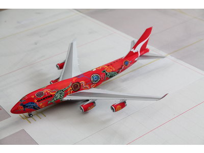 "JC Wings 1:200 Qantas ""Wunala Dreaming"" B747-400"