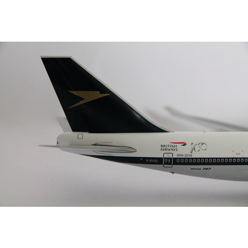 "Gemini Jets 1:200 British Airways ""BOAC"" B747-400"