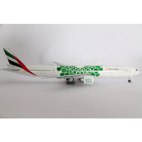 "Gemini Jets 1:200 Emirates ""Green EXPO 2020"" B777-300"