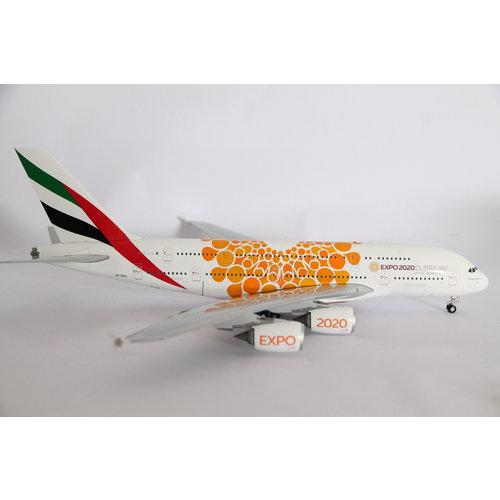 "Gemini Jets 1:200 Emirates ""Orange EXPO 2020"" A380"