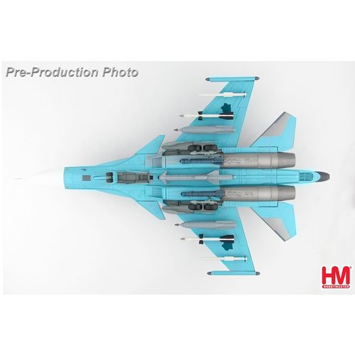 Hobby Master 1:72 Sukhoi Su-34 Fullback Fighter Bomber Red 21, Russian Air Force, Syria, 2015